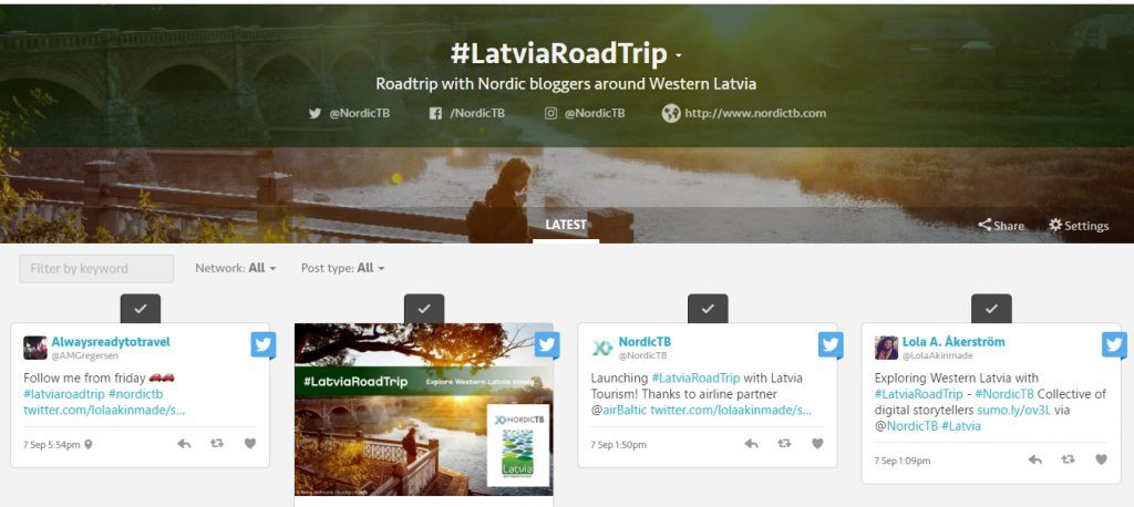 latviaroadtrip-tagboard